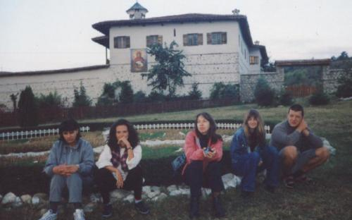 At the Rozhen Monastery 2001